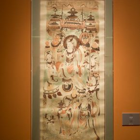 "11 Exhibition view of ""Everlasting Beauty of Dunhuang"""
