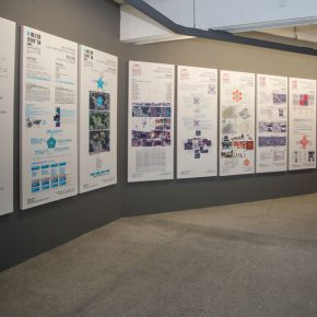 "12 Exhibition View of ""Meta-Field Cultural Research of the Urban and Country Architectural Design"""