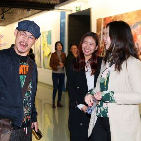 """13 Exhibition view of """"Elite Young Artists Program"""" 290x290 - Focusing on the Growth Path of the Post-80s Young Artists, Elite Young Artists Program 2017 Started Again"""