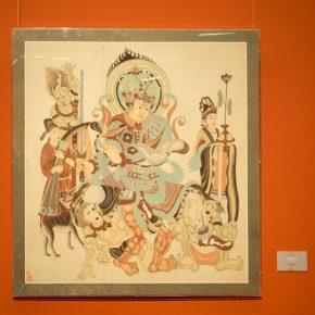 "14 Exhibition view of ""Everlasting Beauty of Dunhuang"""