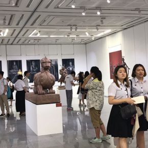 "15 Exhibition View of""Sculpture with Chinese Color"""