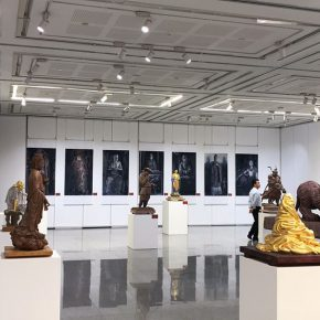 "16 Exhibition View of""Sculpture with Chinese Color"""