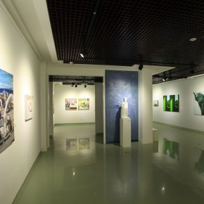 """17 Exhibition view of """"Elite Young Artists Program"""" 290x290 - Focusing on the Growth Path of the Post-80s Young Artists, Elite Young Artists Program 2017 Started Again"""