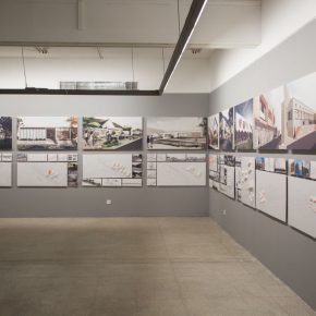 "18 Exhibition View of ""Meta-Field Cultural Research of the Urban and Country Architectural Design"""