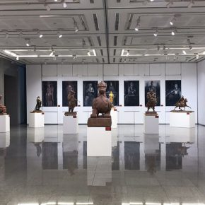 "19 Exhibition View of""Sculpture with Chinese Color"""