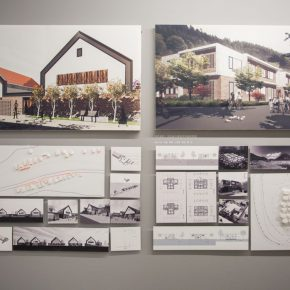 "19 Exhibition View of ""Meta-Field Cultural Research of the Urban and Country Architectural Design"""