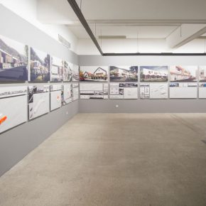 "20 Exhibition View of ""Meta-Field Cultural Research of the Urban and Country Architectural Design"""