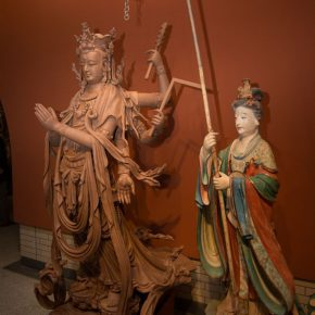 """23 Exhibition View of""""Sculpture with Chinese Color"""" 290x290 - """"Sculpture with Chinese Color"""" was successfully unveiled at the China Cultural Center in Bangkok"""