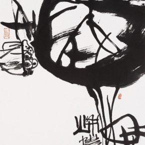 "23 Pan Gongkai, ""Autumn"", 45.5 x 34 cm, 2016"