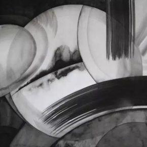 Chai Mi, Haphazard cut of theinfinitesimal 2015, 38.5 x 39 cm,