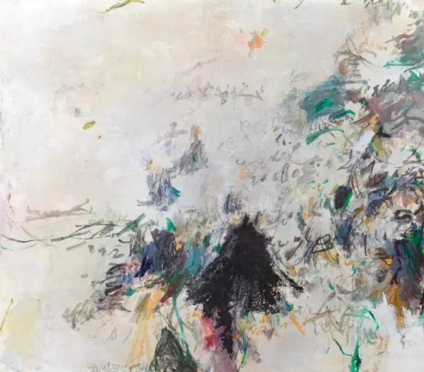 HUANG YUANQING, Untitled, 2015, Mix media on rice paper, 97 x 85 cm