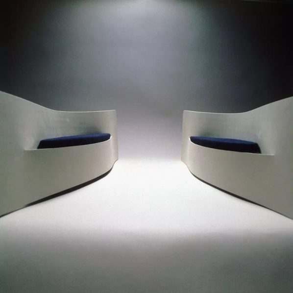 How slow the wind -bench,by KAZUHIRO YAMANAKA,2002.