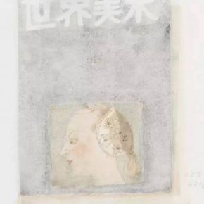 Wang Yuping, World Art III, 2016; painting, 42x56cm