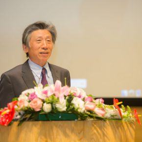 01 Fan Di'an, President of the Central Academy of Fine Arts delivered a speech
