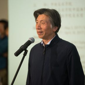 "01 Producer of the exhibition and President of CAFA Fan Di'an 290x290 - ""For Chinese Painting"" Opened Focusing on the Theme of Sketching for Figure Painting for Higher Education"