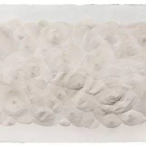 "04 Fu Xiaotong 599600 Pinpricks 2017 Painting handmade paper 116x204cm 290x290 - ""Limitless: New Works by Fu Xiaotong"" to be Presented at Chambers Fine Art in Beijing"