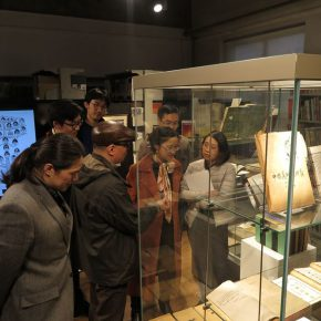 05 Teachers from the School of Humanities, CAFA visited the exhibition