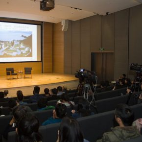 07 View of the lecture 290x290 - Fram Kitagawa: Art Awake up Local – Setouchi Triennale