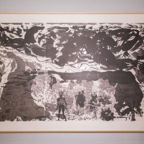11 Installation view of the exhibition 290x290 - Awareness of Civilization: Exhibition of Artistic Works by Yuan Yunsheng Opened at the National Art Museum of China