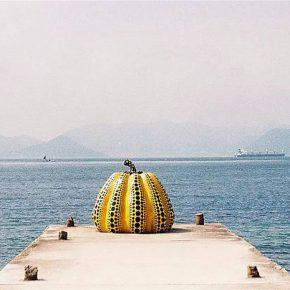 11 Yayoi Kusama's work of pumpkin