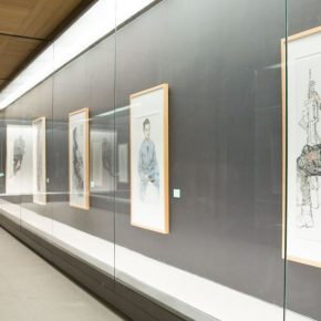 "13 Exhibition view of ""For Chinese Painting"" 290x290 - ""For Chinese Painting"" Opened Focusing on the Theme of Sketching for Figure Painting for Higher Education"