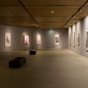 "18 Exhibition view of ""For Chinese Painting"""