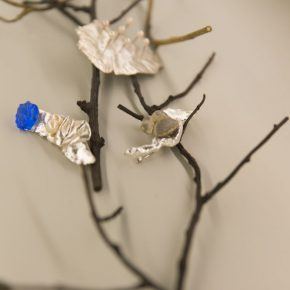 "19 Exhibition view of ""Plumtree Scent Contemporary Jewelry by Teng Fei"""