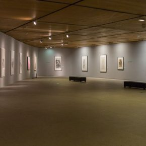 "20 Exhibition view of ""For Chinese Painting"""