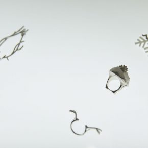 "31 Exhibition view of ""Plumtree Scent Contemporary Jewelry by Teng Fei"""