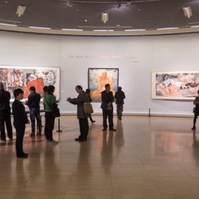 40 Installation view of the exhibition 290x290 - Awareness of Civilization: Exhibition of Artistic Works by Yuan Yunsheng Opened at the National Art Museum of China