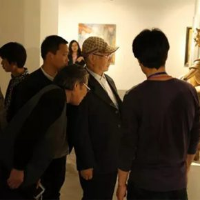 """8 Exhibition view of """"Come Straight to the Point"""""""