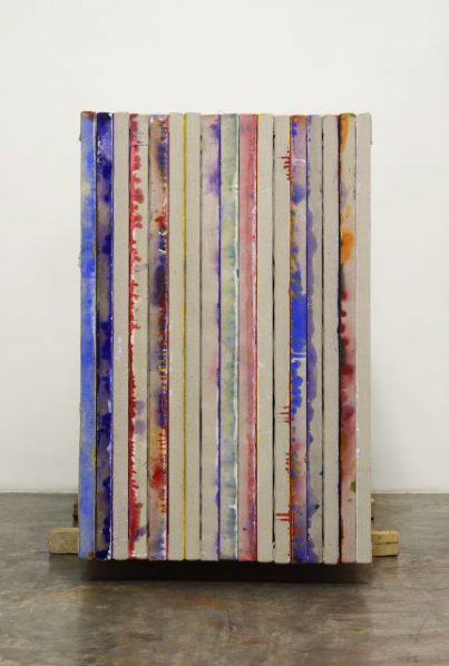 Feng Yan, Paintings 03, 2014; painting, installation, 148x98cm