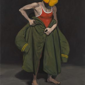 Liu Xia, Portrait 4, 2017; Oil on Canvas, 180x150cm
