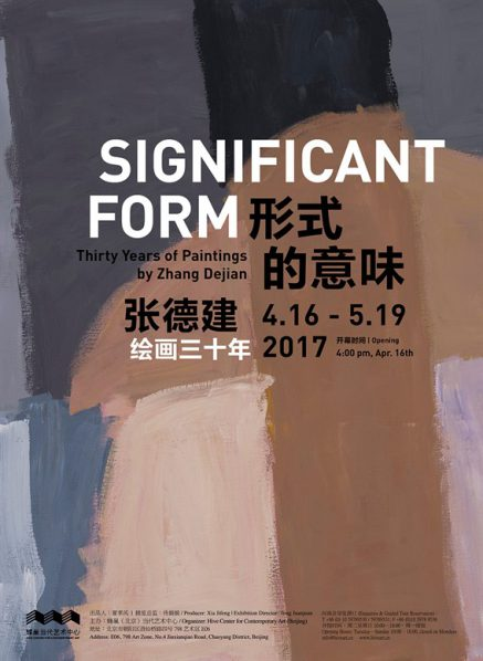 Poster of Significant Form Thirty Years of Paintings