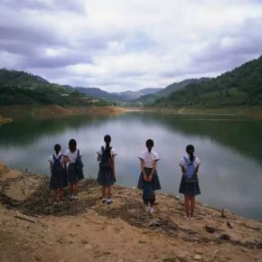 Weng Fen, Staring at the Lake No. 1, 2004; photography, 125x165cm