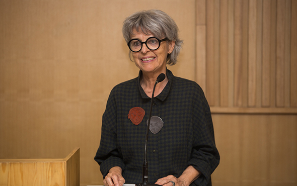 00 featured image of The speaker was Prof. Esther Brinkmann from the Geneva Academy of Fine Arts, a founder of the jewelry specialty and a jewelry artist