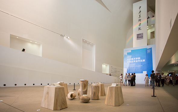 00 featured image of the ground floor of CAFA Art Museum