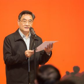 02 Li Yunlin, Deputy Secretary-General of Zhejiang Provincial People's Government delivered a speech