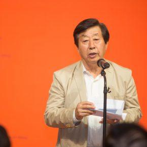 04 Liu Dawei, Chairman of China Artists Association delivered a speech
