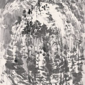 04 Lu Chen There Are Residents on the Mountain 20 x 15 cm 1957 290x290 - Lu Chen