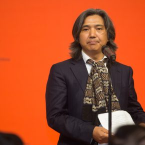 05 Wu Weishan, Director of National Art Museum of China delivered a speech