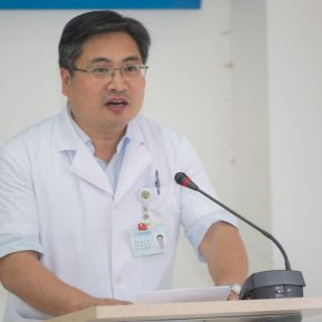 06 Peng Mingqiang, Vice President of the China-Japan Friendship Hospital and the host