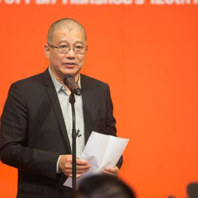 06 Xu Jiang, President of China Academy of Art delivered a speech