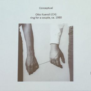 07 Otto Kuenzli, Ring for a couple, jewelry as the expression of the concept of the artist