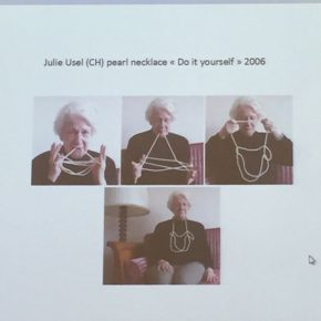 08 Julie Usel, Do it yourself, Wearing means annotations