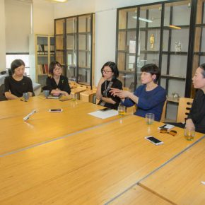 08 View of the interview 290x290 - Teng Fei and Her Students: Road of Contemporary Jewelry, Starting from Loneliness...