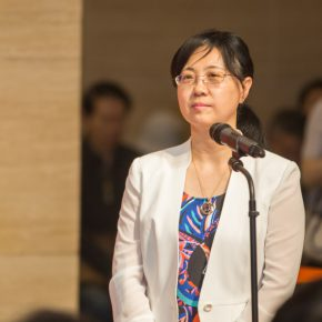 08 Zhou Hanping, Deputy Director of Art Department of the Ministry of Culture presided over the opening ceremony