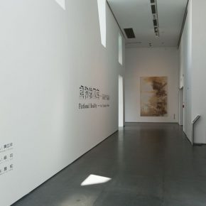 """09 Entrance to the exhibition of """"Fictional Reality"""" 290x290 - Self-Inquiry of Art: Su Xinping's Solo Exhibition """"Fictional Reality"""" Opened in the He Art Museum"""