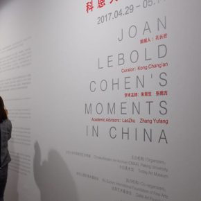 "13 Exhibition view of ""Joan Lebold Cohen's Moments in China"""