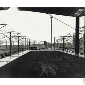 17 Dongye Xu Journey Series No.2 etching 55 × 41 cm 2016 Xian Academy of Fine Arts 290x290 - Graduates from the Eight Academies of the Fine Arts Gathered in Yiwu to Present the Quality of the Academy